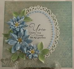 Heartfelt Creations | Flower In My Garden by Glenda Brooks