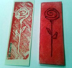 Amb safata porex St Georges Day, Diy And Crafts, Arts And Crafts, How To Make Bookmarks, Xmas Presents, Gift Exchange, Saint George, Red Roses, Activities For Kids