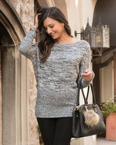Grace and lace sweater