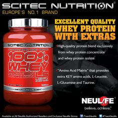 Scitec Whey Protein Professional LS Whey Protein Concentrate, Protein Blend, Scitec Nutrition, Product Ads, Whey Protein Isolate, Amino Acids, Food, Essen, Meals