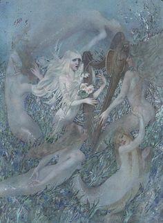 The Little Mermaid by Nadezhda Illarionova
