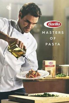 Roger Federer and Barilla - Sponsor depuis 2017