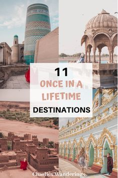Once in a lifetime destinations bucket list destinations best places to visit original places to visit most beautiful destinations in the world off the beaten path destinations Bucket List Destinations, Amazing Destinations, Travel Destinations, Travel Tips, Travel Vlog, Travel Goals, Travel Ideas, Best Places To Travel, Oh The Places You'll Go