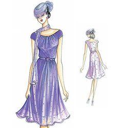 Marfy Dress F2823