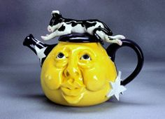 cow/moon teapot