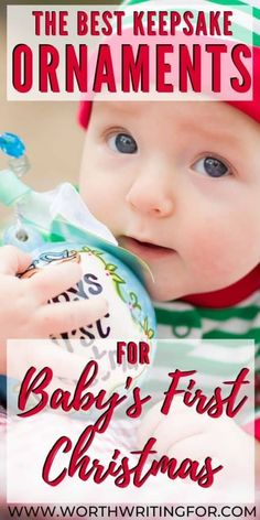 Need a special baby's first Christmas ornament to give as a gift or one for your own baby? You'll love these keepsake ornaments for baby's first Christmas! Baby First Christmas Ornament, Babies First Christmas, Family Christmas, Christmas Outfits, Christmas 2019, Christmas Ideas, Christmas Gifts, Christmas Ornaments, Baby Shower Gifts