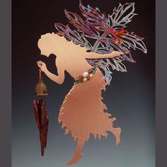 Pictures of Copper Wind Chimes   Wind ChimeValerian Copper Fairy by copperfairies on Etsy