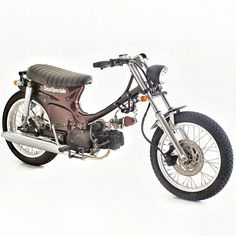 Deus Bali's Raked Out Honda C70 - I'd love to rebuild my C70 like this!