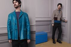 Ben Whishaw - behind the scenes Prada Menswear AW 2013/14