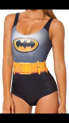 Batman swimsuit for women on Etsy, $26.00 || Mira @wentairu