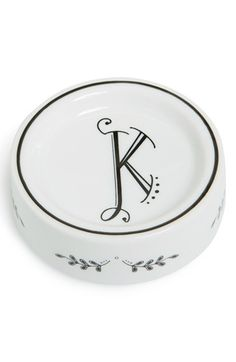 Rosanna 'Calligraphie' Porcelain Dish available at #Nordstrom