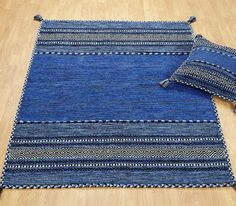 Kilim Blue Rugs | Modern Rugs