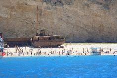 Das Wrack des Küstenmotorschiffs «Panagiotis» Zakynthos, Dolores Park, Travel, Caribbean, Greece, World, Viajes, Destinations, Traveling