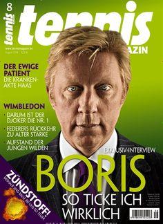 Boris - So ticke ich wirklich Gefunden in: tennisMAGAZIN - epaper Nr. 08/2014