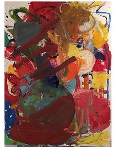 Abstractions and Modern Art Abstract Painters, Abstract Art, Joan Mitchell, Funky Art, Art Abstrait, Art Design, Painting & Drawing, Art Drawings, Artsy