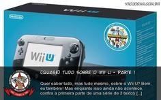 (Quase) Tudo Sobre O WII U - Parte 1 - Quer saber tudo, mas tudo mesmo, sobre o Wii U? Bem, eu também! Mas enquanto isso ainda não acontece, confira a primeira parte de uma série de 3 textos contendo as primeiras impressões, sensações e ilusões(?) de um gamer maluco com seu mais novo console da Nintendo.