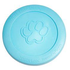 West Paw Design Zogoflex Zisc Tough Dog Chew Toy Large Aqua for sale online Dog Chew Toys, Dog Toys, Dog Dental Care, Dog Food Storage, Dog Shower, Dog Shedding, Dog Diapers, Dog Travel, Dog Memorial