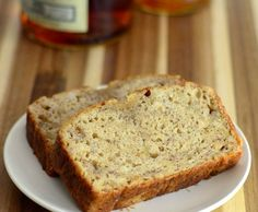 Ooh! This one seems easy to make: Bourbon Banana Bread  #boozyrecipe