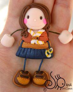 Mundo das Bonecas * Joana da Cunha: Boneca escuteira