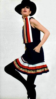 Vintage Fashion By Lanvin for L'Officile magazine 1969