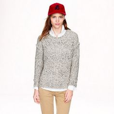 J. Crew Marled Sweater New! Nice, thick sweater for the fall and winter! J. Crew Sweaters Crew & Scoop Necks