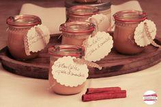 """Marmelade - Milchaufstrich """"Fleurlaitin pâte d'amandes"""" Neu!! - ein Designerstück von CinnamonSwirl bei DaWanda"""
