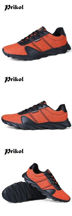 US $23.95 <Click to buy> Prikol Big Size 39-46 Men Sneaker Running Breathable Sport Blade Shoes For Men's Krasovki Outdoor Cool High Quality Trainer