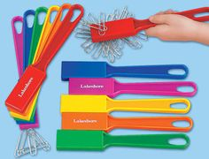 Lakeshore's Magnetic Wands help children explore attraction & repulsion with a variety of classroom objects—or with other wands!