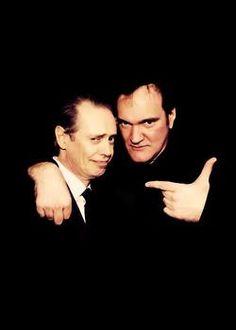 Steve Buscemi and Quentin Tarantino. Steve Buscemi, Quentin Tarantino, Death Proof, Natural Born Killers, Reservoir Dogs, Ensemble Cast, True Romance, The Best Films, Film Director