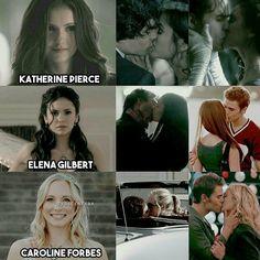 Pra Caroline só faltou Mystic Falls inteira kk