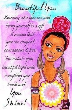Beautiful you....you shine!