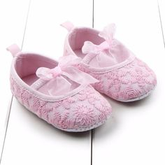 >> Click to Buy << 0-12M Newborn Baby Soft Shoes Infants Girls Princess Shoes Soft Sole Crib Shoes Prewalkers #Affiliate