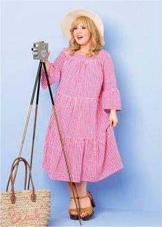 Maite Kelly, Star Fashion, Plus Size Outfits, Celebs, Shirt Dress, Sweet, Shirts, Beauty, Vintage