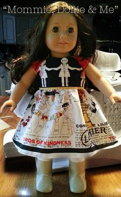 She Who Sews – Creative Collaboration Sewing Blogs, Sewing Ideas, Softies, American Girl, Fabric Design, Doll Clothes, Diy And Crafts, Flower Girl Dresses, Joy