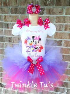 Minnie and Daisy Tutu Outfit