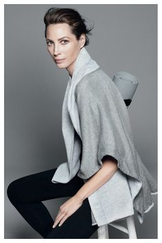 Christy Turlington in Esprit Wellness campaign