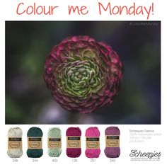 Brought to you by Scheepjes. Each Monday we release a new Inspirational Snapshot to help you plan your knit and crochet projects! Find us on www.scheepjes.com #Scheepjes #Scheepjeswol