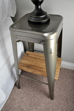 Best Industrial Stool Nightstands That Diy Party Highlights 640 x 480
