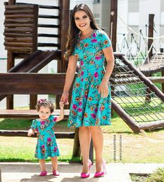 s Clothing Children' Mommy And Me Outfits, Classy Outfits, Pretty Outfits, Girl Outfits, Mother Daughter Pictures, Mother Daughter Fashion, Saree Blouse Patterns, Saree Blouse Designs, Little Girl Dresses