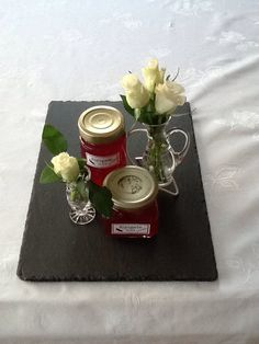 Ripsgele Table Settings, Marmalade, Table Top Decorations, Place Settings, Desk Layout