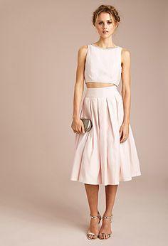 Pleated Midi Skirt | FOREVER21 | #thelatest
