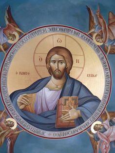 Christ The Pantocrator Byzantine Icons, Byzantine Art, Religious Icons, Religious Art, Greek Icons, Church Icon, Christian Artwork, Orthodox Icons, Cyprus