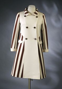 Coat, André Courrèges, 1967