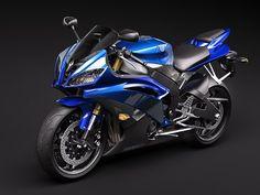 Yamaha R6 Sport Bike 3D Model - 3D Model