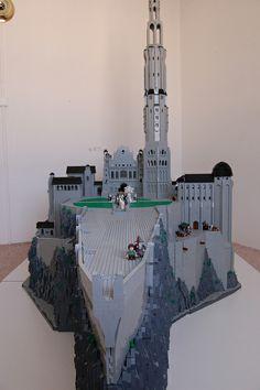 LEGO Minas Tirith_3010 | Flickr - Photo Sharing!