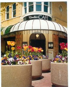 The Boulder Cafe! Located right in the heart of downtown Boulder's Pearl St. Mall.