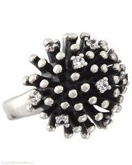 Soak up the fun. Cubic Zirconia, Sterling Silver Starburst Ring $114.00 click here to purchase, or shop online at http://mysilpada.com/coni.otto