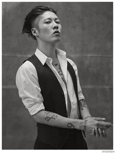 Miyavi Poses for Interview Magazine Shoot, Talks Unbroken image Miyavi Interview Magazine December 2014 January 2015 Photo Shoot 006