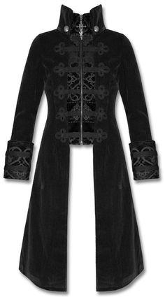 black velvet *baratheon* coat <3