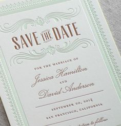 Hamilton - Traditional wedding invitation